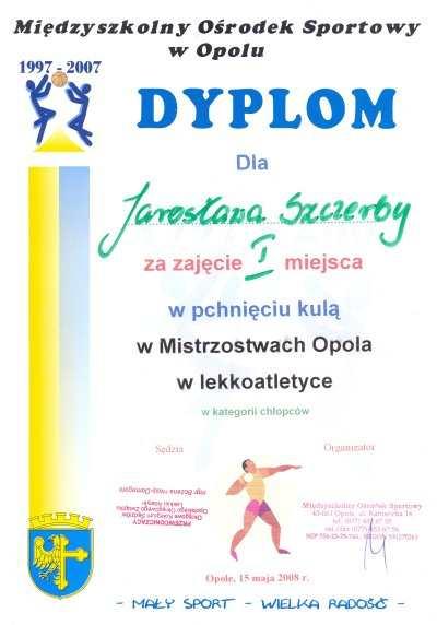 Dla Jarosława Szczerby